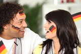 German couple happy with teams performance