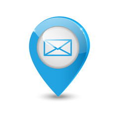 Email pointer icon