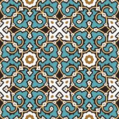 Hamadan Seamless Pattern Four