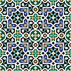 Hamadan Seamless Pattern Three
