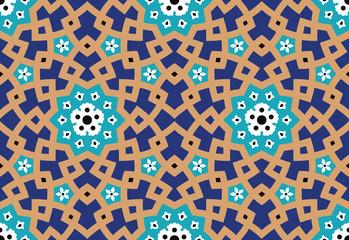Hamadan Seamless Pattern Two