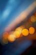 canvas print picture - Urbane Lichter in der Nacht