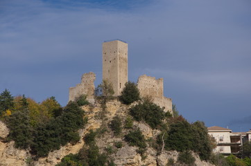 Tower of Montefalcone Appennino, Marche, Italy