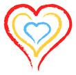 hearts inside
