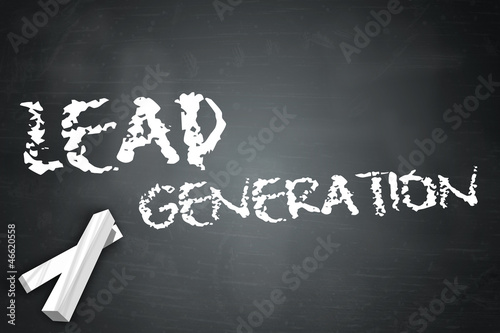 "Blackboard ""Lead Generation"""