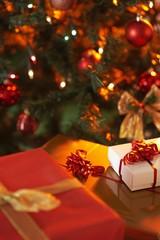 arvore e presentes