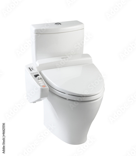 Hygienic and high technology of the toilet bowl for bathroom