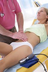 Douleurs abdominales - Auscultation