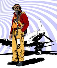 military pilot WW2