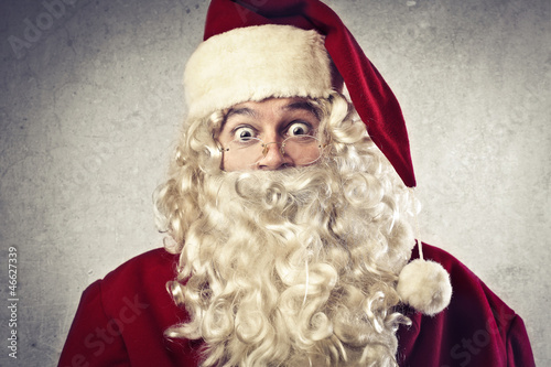 Surprised Santa Claus