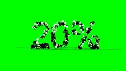 20 percent green screen sale