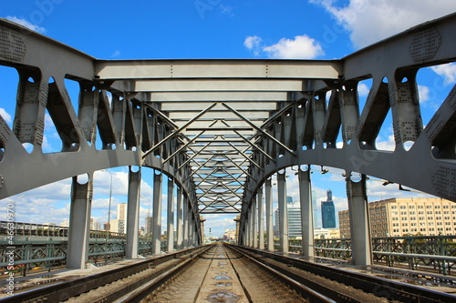 Railway Bridge in Moscow