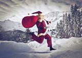Fototapety Santa Claus Coming