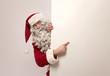 Showing Santa Claus