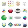 16 icons set