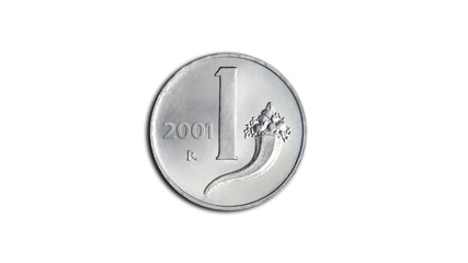transition from the euro to the Italian lira (in future?)