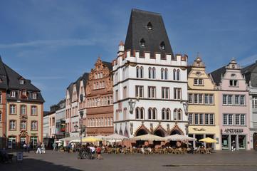 Steipe mit Hauptmarkt in Trier