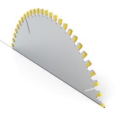 Das Sägeblatt