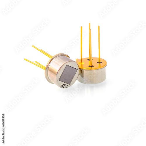 Leinwanddruck Bild Electronic sensor