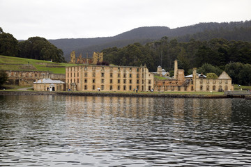 Port Arthur Historic Convict Site from the water, Tasmaina