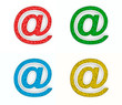 Color email signs