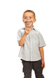 Happy kid with big smile