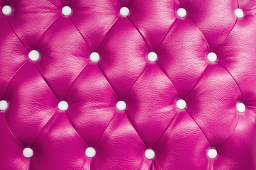 picture of pink genuine leather upholstery