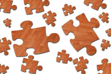 Laminate. Puzzle.