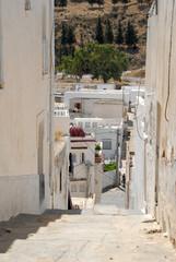 ruelle en escalier de Zaghouan