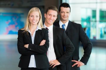 Motivierte Business-Gruppe