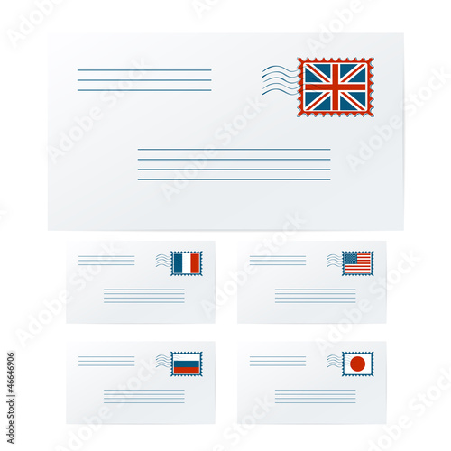 International envelopes