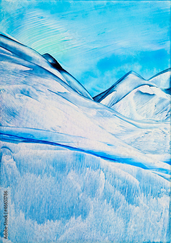 Cold Mountain 2 was painting