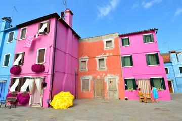 maisons colorées de Burano 2