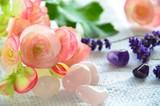 Fototapety flower and healing stones