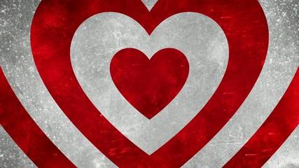 фон с сердцем