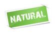 Etikett - natural