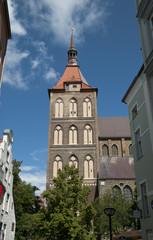 Marienkirche, Rostock, Mecklenburg-Vorpommern, Deutschland