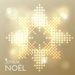 Joyeux Noël abstract background