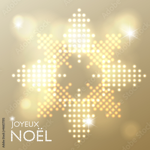 Joyeux Noël abstract background