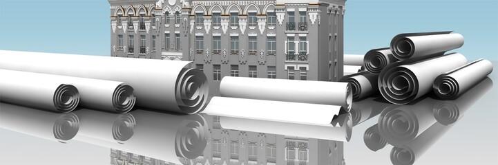 banner urban construction