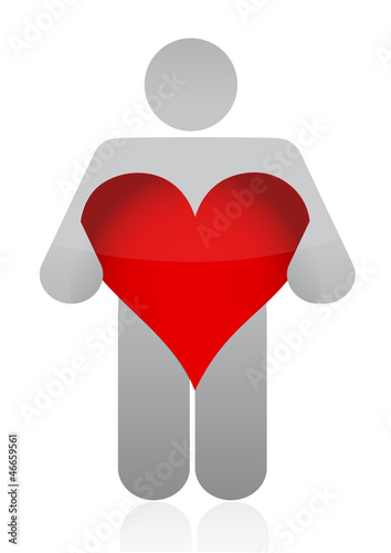 heart icon illustration