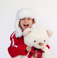 Kind mit Teddy bear