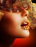 Fototapeta makijaż - makijaż - Kobieta