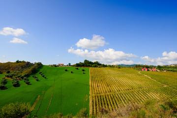 Paesaggio Italia centrale
