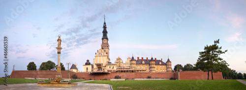 obraz PCV Jasna Góra, panorama