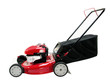 Leinwanddruck Bild - Red Lawn Mower
