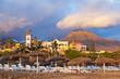 Beach Las Americas in Tenerife island - Canary