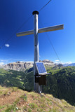 Dolomiti - cross in Crepa Neigra peak