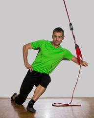 Athletiktraining an der Schlinge