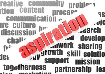 Aspiration concept
